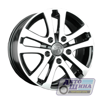 Диски 6.5J16 ET39.5 D66.6 Replay Ssang Yong SNG17 (5x112) BKF (Китай)