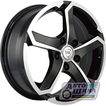 Диски 7.0J17 ET45 D60.1 NZ Wheels SH665 (5x114.3) BKF (Россия)