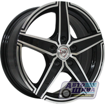 Диски 6.0J15 ET46 D54.1 NZ Wheels F-1 (4x100) BKF (Россия)