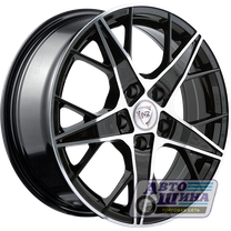 Диски 6.5J16 ET50 D60.1 NZ Wheels F-29 (4x100) BKF (Китай)