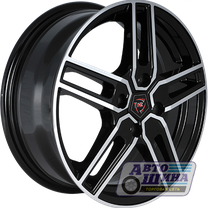 Диски 6.0J15 ET46 D54.1 NZ Wheels F-12 (4x100) BKF (Россия)