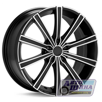 Диски 6.0J14 ET35 D58.6 NZ Wheels SH626 (4x98) MBF (Китай)