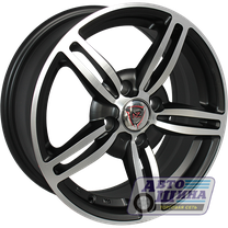 Диски 6.0J14 ET38 D58.6 NZ Wheels SH305 (4x98) MBF (Китай)
