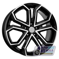 Диски 6.0J15 ET50 D60.1 NZ Wheels F-15 (4x100) BKF (Китай)