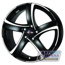 Диски 7.5J17 ET35  D56.6 Alutec Shark  (5x105) Racing Black Front Polish арт.SH75735O83-5 (Германия)