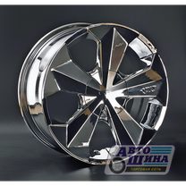 Диски 7.5J18  ET35  D73.1 LS Wheels PW P309  (5x100x112) Chrome (Тайвань)