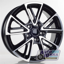 Диски 6.0J15 ET48 D54.1 NZ Wheels F-14 (4x100) BKF (Китай)