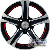 Диски 5.5J13 ET35 D58.6 NZ Wheels SH642 (4x98) MBRS (Китай)