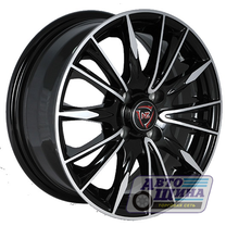 Диски 6.0J14 ET35 D58.6 NZ Wheels F-35 (4x98) BKF (Китай)