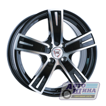 Диски 6.0J15 ET35 D58.6 NZ Wheels F-16 (4x98) BKF (Китай)