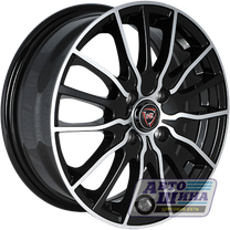 Диски 6.0J15 ET35 D58.6 NZ Wheels F-19 (4x98) BKF (Китай)