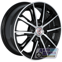 Диски 6.0J15 ET48 D54.1 NZ Wheels F-31 (4x100) BKF (Китай)