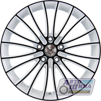 Диски 7.0J17 ET39  D65.1 NZ Wheels F-49  (5x110) W+B арт.9123860 (Китай)
