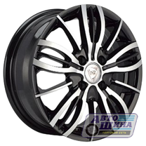 Диски 6.0J15 ET48 D54.1 NZ Wheels SH675 (4x100) BKF (Россия)