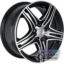 Диски 6.5J15 ET35 D58.6 NZ Wheels F-6 (4x98) BKF (Китай)