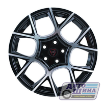 Диски 6.0J15 ET48 D54.1 NZ Wheels F-26 (4x100) BKF (Китай)