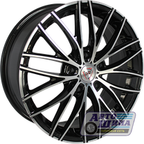 Диски 7.0J17 ET45 D67.1 NZ Wheels F-28 (5x114.3) BKF (Китай)