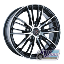 Диски 6.0J15 ET50 D60.1 NZ Wheels F-33 (4x100) BKF (Китай)