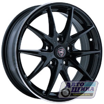 Диски 6.0J15 ET40 D57.1 NZ Wheels F-34 (5x100) BKPL (Китай)