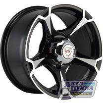 Диски 8.0J16 ET0 D110.5 NZ Wheels SH659  (5x139.7) BKF арт.9133804 (Китай)