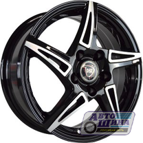 Диски 6.0J15 ET40  D57.1 NZ Wheels SH661  (5x100) BKF арт.9129138 (Китай)
