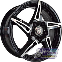 Диски 6.0J15 ET50 D60.1 NZ Wheels SH661 (4x100) BKF (Китай)