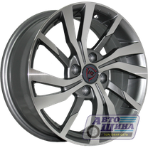 Диски 6.5J16 ET45  D60.1 NZ Wheels 705  (4x100) BKF арт.9195654 (Китай)