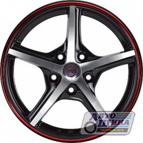 Диски 6.5J15 ET35  D58.6 NZ Wheels SH667  (4x98) BKFRS арт.9129421 (Китай)