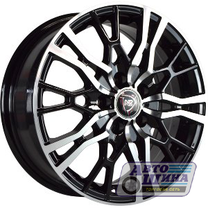 Диски 6.5J16 ET50  D60.1 NZ Wheels SH658  (4x100) BKF (Китай)