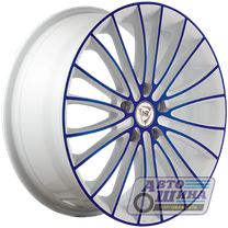 Диски 6.0J15 ET50  D60.1 NZ Wheels F-49  (4x100) W+BL арт.9127965 (Китай)