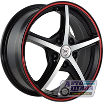 Диски 6.5J16 ET38  D58.6 NZ Wheels SH667  (4x98) BKFRSI арт.9129423