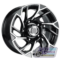 Диски 8.0J16 ET0 D108.2 NZ Wheels SH660  (5x139.7) BKF арт.9129127