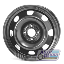 Диски 6.0J15 ET38 D57.1 Magnetto VW Polo (5x100) Black, арт.15007 AM под ориг. колпак) (Россия)