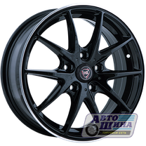 Диски 6.5J16 ET50 D60.1 NZ Wheels F-34 (4x100) BKPL, арт.9172779 (Китай)