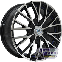 Диски 6.0J15 ET40 D60.1 NZ Wheels F-2 (4x100) BKFBSI (Россия)